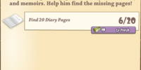 Find Rob's Diary Pages Chain