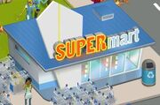Supermarket finished