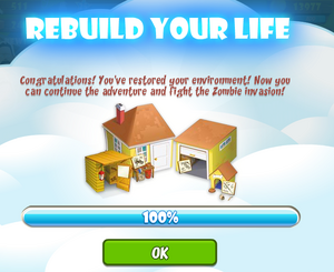 Rebuild your life 100 per cent