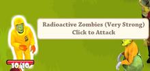 Radioactive zombie
