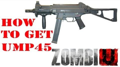 ZombiU- How to get UMP45 Machine Gun