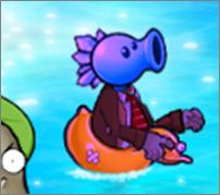 Snow pea zombie-1