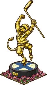 Ice Hockey Statue