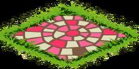 Pink Mosaic Path