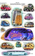 Zootopia Cars