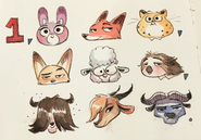 Fawn Animation Art