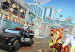 Nick and Judy driving