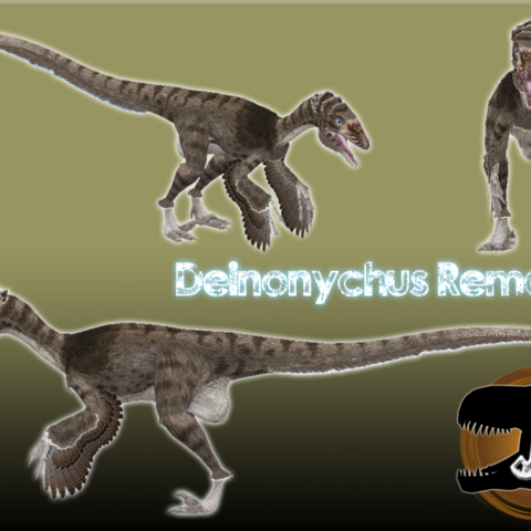The first public version of the Deinonychus Remake