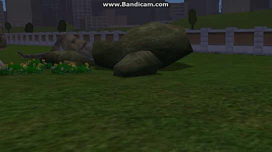 Dino getting not rampage like.