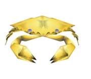 Golden Deepsea Crab