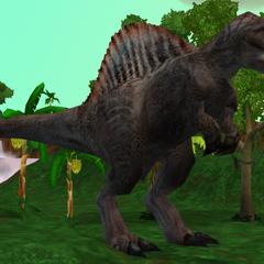 <i>Spinosaurus</i> from the <i>Jurassic Park Pack</i>
