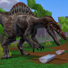 <i>Spinosaurus</i> from <i>Zoo Tycoon 2: Operation Genesis</i>
