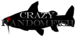 Crazy random fish logo by budhiindra-d5br11r