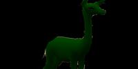 Dark Green Gerenuk