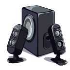 MediaCenter Speakers-icon