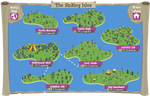 The Sinking Isles map