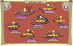 Volcano Isles map
