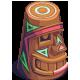 Painted Happy Tiki-icon