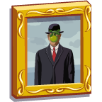 LostFineArt Magritte-icon