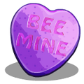 Candy Hearts Bee Mine-icon