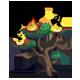 Burning Black Pine-icon