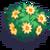 Orange Flower Bush-icon